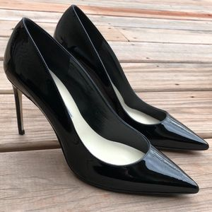 BRIAN ATWOOD Valerie Patent Leather Pumps Heels